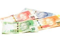 ZAR-Währung Stockfotos