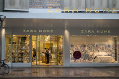 Zara Home shop Stock Photos