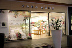 Zara home shop Royalty Free Stock Images