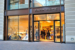Zara Home store Royalty Free Stock Photography