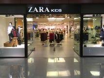Zara Kids lager Royaltyfri Bild