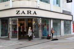 Zara-Modeshop Stockbilder