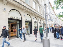 Zara munich Royalty Free Stock Photo