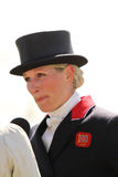 Zara Phillips Badminton 2013 Immagini Stock
