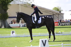 Zara Phillips  Dressage Stock Photo