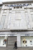 Zara shop in Berlin, Germany Royalty Free Stock Images