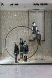 Zara shoppar på Emquartier Thailand, December 17, 2017 Royaltyfria Foton