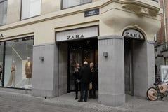 Zara Speicher Stockfotos