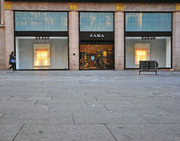 Zara store, Barcelona Stock Photos