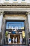 Zara store in Barcelona Royalty Free Stock Image