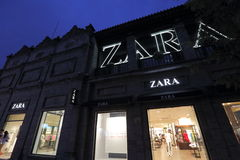 Zara store Stock Photography