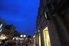 Zara store Royalty Free Stock Photo