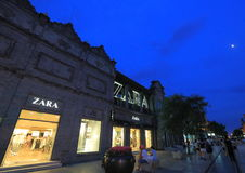Zara store Stock Photography