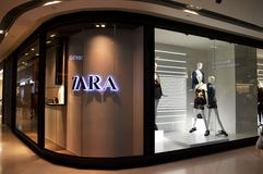 Zara Store Royalty Free Stock Images