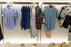 Zara store interior Stock Images