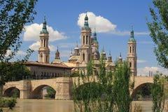 Zaragoza Arkivbild