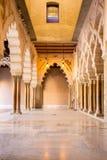 Zaragoza alcazar Corridor Royalty Free Stock Image