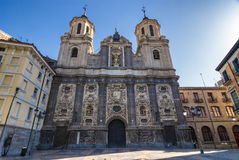 Zaragoza (Aragon, Spain), church Royalty Free Stock Images