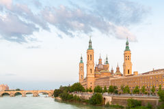 Zaragoza Basilica Spain Royalty Free Stock Images