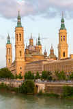 Zaragoza Basilica Spain Royalty Free Stock Image