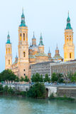 Zaragoza Basilica Spain Royalty Free Stock Photography