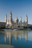 The Zaragoza Cathedral Stock Photos