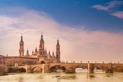 Zaragoza Cathedral Royalty Free Stock Photography