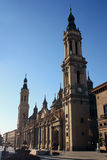 Zaragoza Cathedral Stock Images