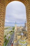 Zaragoza cityscape Stock Photo