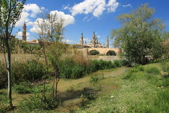 Zaragoza Royalty Free Stock Images