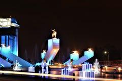 Zaragoza i xmas3 Fotografia Royalty Free