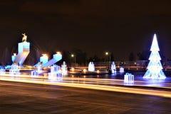 Zaragoza i xmas2 Zdjęcie Royalty Free