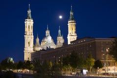 Zaragoza, katedra Fotografia Royalty Free
