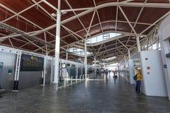 Zaragoza lotnisko Zdjęcie Royalty Free