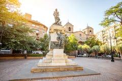 Zaragoza miasto w Hiszpania Zdjęcia Stock