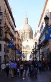 Zaragoza Spanien Royaltyfria Bilder
