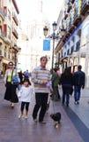Zaragoza Spanien Arkivfoton