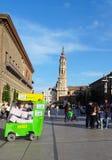 Zaragoza Spanien Royaltyfri Bild