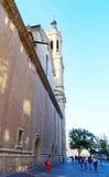 Zaragoza Spanien Arkivfoto
