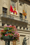 Zaragoza Townhall Stock Photography