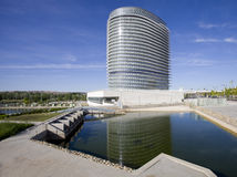 Zaragoza, water tower Royalty Free Stock Image