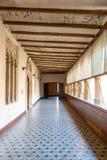 ZaragozaPalace Corridor Stock Photo