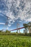 Zarate Brazo Largo Bridge, Entre Rios, Argentina Stock Photography