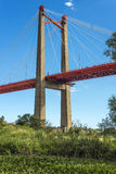 Zarate Brazo Largo Bridge, Entre Rios, Argentina Stock Image