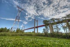 Zarate Brazo Largo Bridge, Entre Rios, Argentina Royalty Free Stock Photo