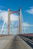 Zarate Brazo Largo Bridge, Entre Rios, Argentina Royalty Free Stock Image