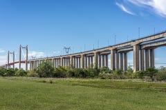 Zarate Brazo Largo Bridge, Entre Rios, Argentina Stock Image
