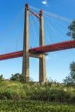 Zarate Brazo Largo most, Entre Rios, Argentyna Obraz Stock