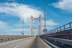Zarate Brazo Largo most, Entre Rios, Argentyna Zdjęcie Stock