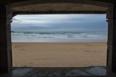 Zarautz plaża Obraz Stock